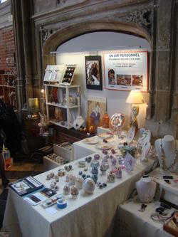 stand au salon d'un art à l'autre à Lille