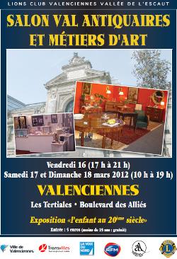 Salon Val Antiquaire et métiers d'art de Valenciennes