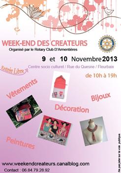 WEEK-END DES CREATEURS à FLEURBAIX