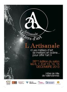 Salon des métiers d'art de Valenciennes 2013