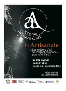 Salon des métiers d'art de Valenciennes 2014