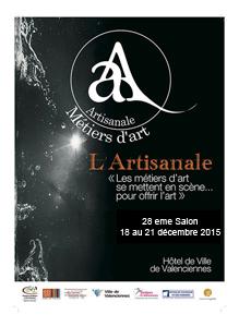 Salon des métiers d'art de Valenciennes 2015