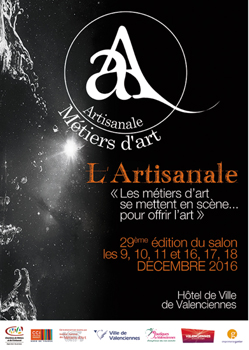 Salon des métiers d'art de Valenciennes 2016