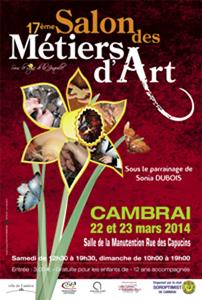 17ème SALON DES METIERS D'ART DE CAMBRAI