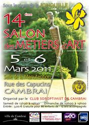 salon des métiers d'art de Cambrai 2011