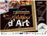 Salon des métiers d'Arts de Lens 2010
