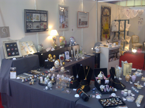 Stand au salon des métiers d'art de Lens Artois 2012