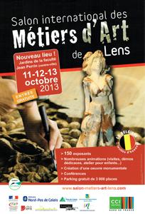 Salon des métiers d'art de Lens 2013