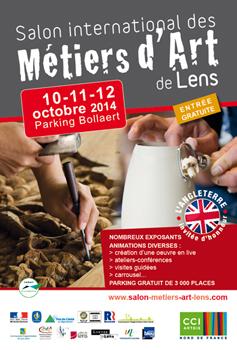 Salon des métiers d'art de Lens 2014