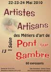Salon des métiers d'Art de pont sur sambre 2010