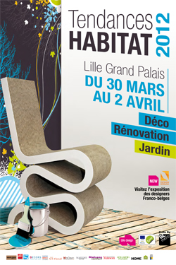 Salon Tendances Habitat à Lille Grand Palais